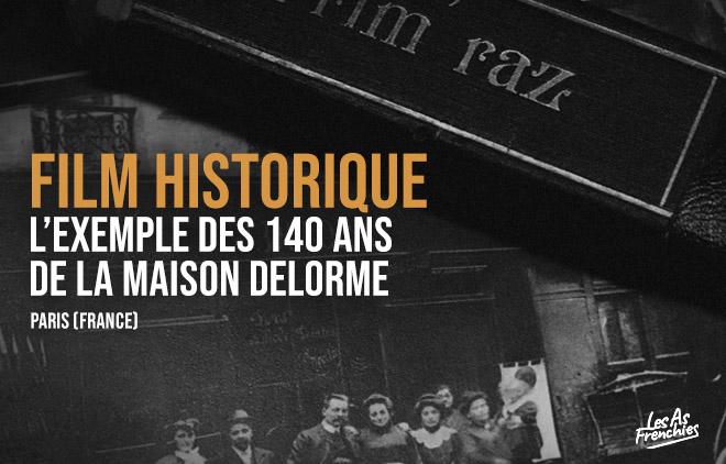 Film Historique Delorme Coiffure Paris